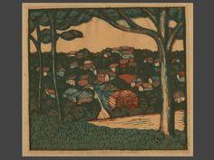 A View at Yoyogi | Sakuichi Fukazawa | The Art of Japan