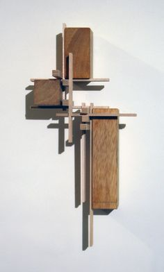 """fabriciomora: """" Abstract Sculpture Inspired by Architectural Model Making Techniques - Maciek Jozefowicz """""""