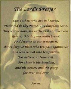 Lord's prayer   Amen ✝️‼️