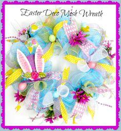Easter #decomesh Wreath $85.00 USD