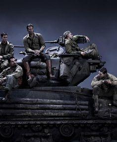 Fury (November 14, 2014) - Brad Pitt, Shia LaBeouf, Logan Lerman, Jon Bernthal, Michael Peña, Jason Isaacs, Scott Eastwood