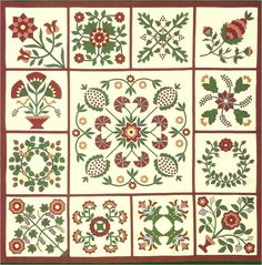 Quilt Inspiration: Inspired by red and green