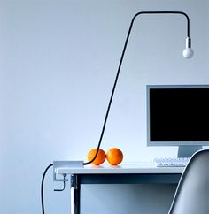 8am Office Task Lamp by Joseph Graceffa & Dario Buzzini // via Yanko Design. This would be perfect for my real estate desk!