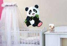 - Best Verkocht - Muursticker Panda, 30x34cm, vanaf 19,90 €