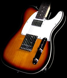 ESP LTD Ron Wood Electric Guitar Three-Tone Sunburst