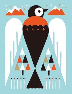 Animal 04 by Shunsuke Satake Small Island Developing States, Burke Museum, Animal Doodles, Punch Needle Patterns, Naive Art, Animal Logo, Flat Illustration, Geometric Art, Vector Art