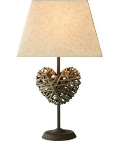 Heart rattan light