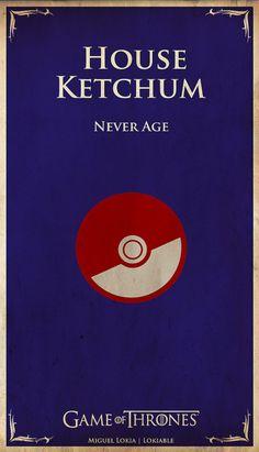 Escudo Game of Thrones Pokémon