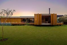 MF  Arquitetos Designs a Private Residence in Franca, Brazil