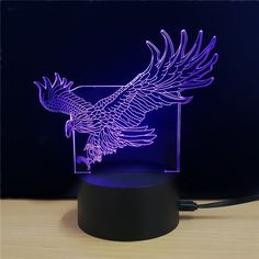 M.Sparkling TD080 Creative Animal 3D LED Lamp - COLORFUL
