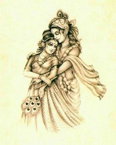 This is something I would love to re-create. Radha Krishna Love Quotes, Radha Krishna Pictures, Lord Krishna Images, Radha Krishna Photo, Krishna Art, Krishna Tattoo, Krishna Drawing, Krishna Painting, Hare Krishna