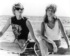#ThelmaandLouise show women what it's really like to be true #rebels