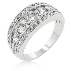 He said i could pick my Anniversary ring.  3 CT Tiered Anniversary Ring!