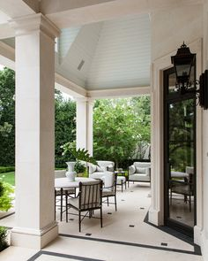 59 ideas for interior patio architecture spaces Patio Design, Exterior Design, Interior And Exterior, House Design, Outdoor Rooms, Outdoor Living, Outdoor Patios, Outdoor Kitchens, Sweet Home