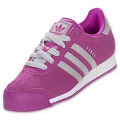 The adidas Originals Samoa Women's Casual shoes are back to fix your fashion. A true adidas classic, the Samoa trumped 80's footwear.  The street-ready adidas shoes feature full-grain leather for comfort, and a retro suede overlay on the toe box adds durability (and looks cool, too).  Give your wardrobe an authentic look and feel with the adidas Samoa shoes. The classic Trefoil outsole let's you leave your mark wherever you go.FEATURES:UPPER: Leather with suede overlay OUTSOLE…