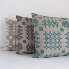 Welsh Tapestery Linen Cushion by PerisandCorr