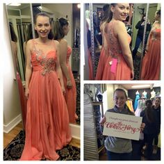 Another great entry in our #ClothesHorseProm15 Sweepstakes. Post a photo to our Facebook page or tagging us on Instagram saying you bought your dress at The Clothes Horse and be entered to win your dress for free. #prom #prom2015 #promdress #promdresses #perfectprom #promshopping #OrchardPark