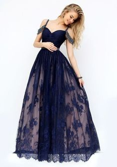 Elegant Floor Length Prom Dress,Off the Shoulder Evening Dress,67