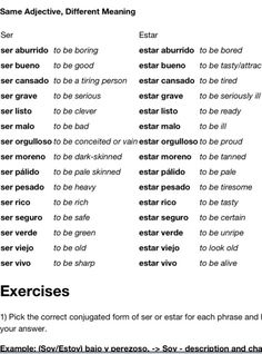 Any good spanish vocab I could use in order to make me sound as though I'm smart?