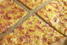 Healthy Food, Healthy Recipes, Hawaiian Pizza, Quiche, Menu, Cooking, Healthy Foods, Menu Board Design, Kitchen