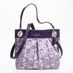This coach purse is a little different than the ones that I've seen but I like…