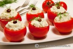 Finger Food Appetizers, Appetizer Recipes, Diet Recipes, Cooking Recipes, Healthy Recipes, Romanian Food, Tasty, Yummy Food, Vegetable Recipes
