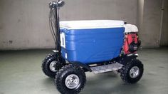 Driver of Motorized Beer Cooler Charged With Drunk Driving