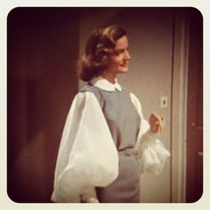 Lauren Bacall in a fantastic blouse in How to Marry A Millionaire