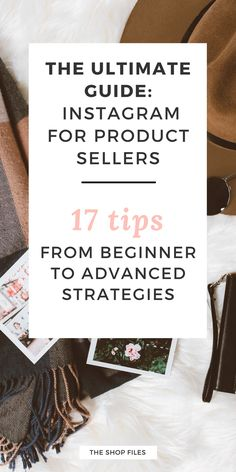 There's more to Instagram than popular hashtags and follow/unfollow methods. Learn 17 actionable Instagram Tips for Business to grow your account today with the best hashtags for Instagram for your business and Instagram tips + tricks to increase followers. The Ultimate Guide to Instagram for Product Sellers, Boutiques and Etsy Shops