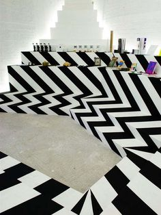 pop up store-stairs