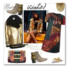 """""""Winter Jacket contest"""" by faten-m-h ❤ liked on Polyvore featuring Sam Edelman, Acne Studios, Light Before Dark, Burberry and LIST"""