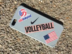 Made this case with paint and a couple of volleyball magazines turned out really good