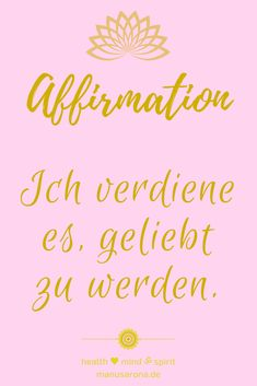 positive Affirmation selbstwert rosa pink chakra chakren yoga meditation selfcare selflove intuition mantra kraftvoll ja yes konditionierung traumaheilung trauma traumahealing codependency conditioning negative mind, innerer kritiker, NLP dankbarkeit glück glücklich glücklichsein love dankbarkeitsjournal genügsamkeit achtsamkeit bewusstsein positivität einfachheit zen buddhismus suchende yogazitat jetzt lifestyle yogalifestyle lebensstil spiritualität spiritjunkie buddhismus zen… Think Positive Thoughts, Yoga Meditation, Intuition, Mantra, Law Of Attraction, Trauma, Affirmations, Mindfulness, Positivity