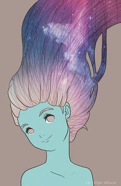 """Ollga Maria - La Ollga dibuja - Estudiante de diseño gráfico e ilustradora por placer. La gran mayoría de los dibujos de """"La Ollga"""" siempre estarán cargados de un toque tierno.  http://laollga.deviantart.com/"""