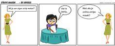 Zelf een strip maken