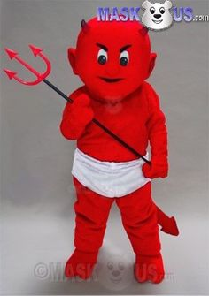 Lil Devil Mascot Costume 49282 is part of our People Mascots Pirates
