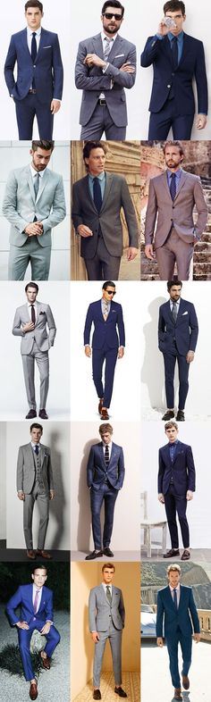 Men's Summer Wedding Guide: How To Dress For A Summer Wedding for The City Wedding Lookbook Inspiration