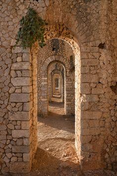 Tempio di Giove Anxur, Terracina, Lazio - Italy
