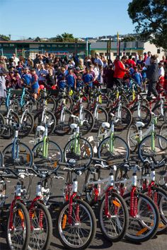Holycross School in New Zealand is the latest to receive 50 new bikes for kids to ride on brand new purpose-built bike tracks at the school.