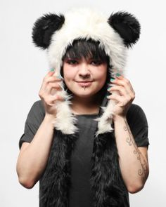 Authentic Spirithoods Panda Full Hood Animal Hat Spirithoods. $99.00