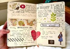 How my journal normally looks like
