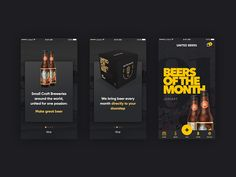United Beers App Design
