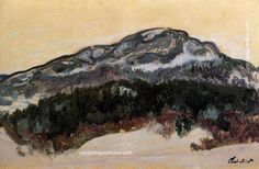 Claude Monet Mount Kolsaas, Norway, 1895 painting for sale online outlet, painting