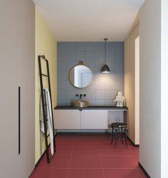 Vogue GRAPH: Geometric Texture Color Your Spaces. #Tiles #ceramics #floor #wall #design #gridline #grid #contrast #ceramicsofitaly #decor #color #geometric #texture