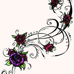 Female Flower Chest Tattoos | The Women Breast Tattoo #527 | Best Tattoo Designs Pictures
