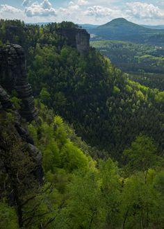 Canyons - shared with pixbuf.com #nature #landscape #forest #canyon #bohemianswitzerland #ceskesvycarsko