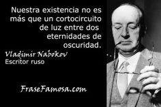 Frases de Vladimir Nabokov - Frases de Existencia - Frase Famosa