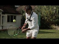 Rafael Nadal Shows Off Juggling Skills - Wimbledon, Funny Sports Videos, Tennis Videos, Tennis Funny, Rafael Nadal, Tennis Racket, Things That Bounce, Champion, Tournoi