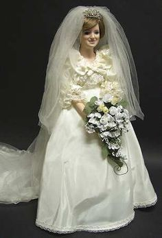 Princess Diana Bride doll.  This is my favorite doll I have her.  She is really a beautiful doll.