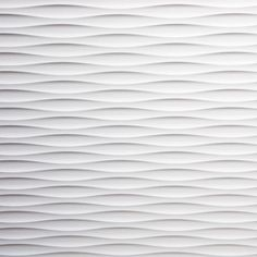 3D MDF Flow Panel from 3D Wall Panel Company. This wave effect panel comes individually boxed & is melamine-backed to prevent warping. Dimensions: 2440 x 1220 mm.